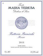 Maria Teresa Fattoria Bernicchi 2015 DenominazioneCabernet IGT Toscana rosso