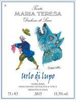 Vino IGT Toscana Rosso Maria Teresa Urlo di Lupo