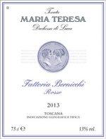 Maria Teresa Fattoria Bernicchi DenominazioneCabernet IGT Toscana rosso
